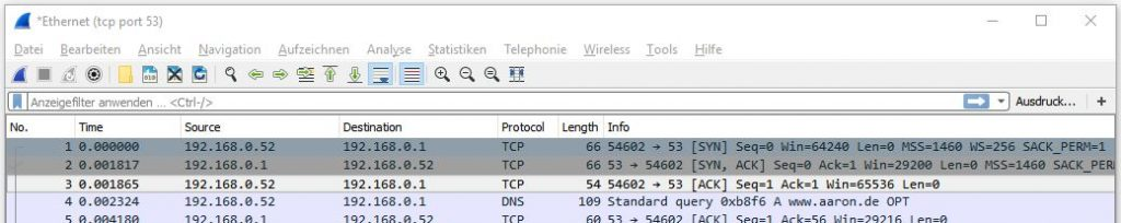 Wireshark Tutorial – aaron de
